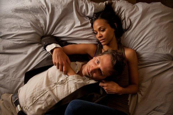 "Bradley Cooper and Zoe Saldana star in ""The Words."""