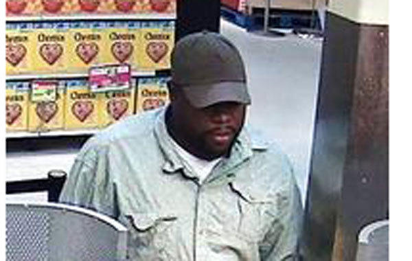 Suspect in a bank robbery Sept. 6 in Homewood.