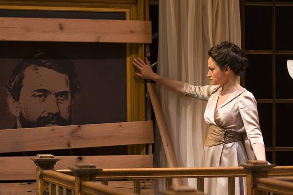 Roxanna hope stars in the Hartford Staghe prioduction of Henrik Ibsen's 'Hedda Gabler.'