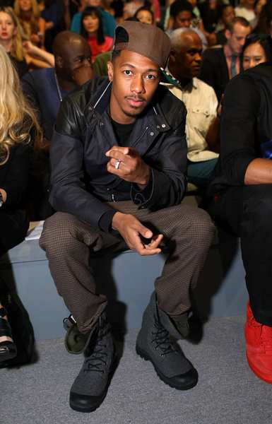 Nick Cannon attends the Richard Chai Love spring 2013 fashion show.