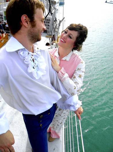 "Tall Ship Adventures of Chicago is staging ""The Pirates of Penzance"" aboard the Tall Ship Windy, departing from Navy Pier."