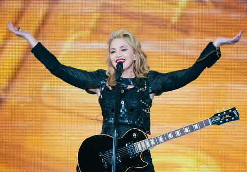 "The Material Girl stormed through Europe trailing controversy -- a lawsuit in Russia, a tussle over the display of a swastika in France, an uproar over gun imagery in her stage show -- and she wouldn't have it any other way, especially given the anemic sales of her latest album, ""MDNA."" No pop performer is quite so expert at stirring it up. <br><br><b> 8 p.m. Sept. 19-20 at the United Center, 1950 W. Madison St., $45, $90, $170, $355; ticketmaster.com.</b>"