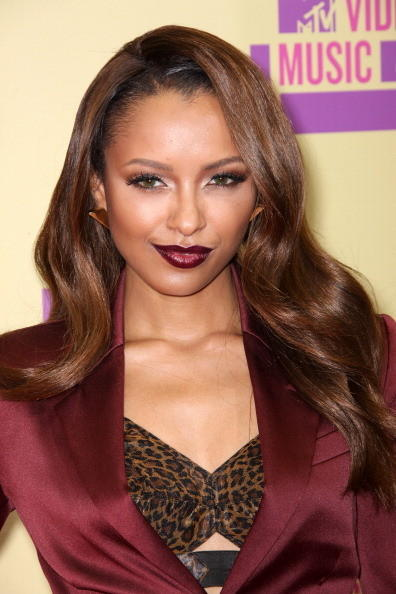 MTV Video Music Awards 2012: Red Carpet Arrivals: Kat Graham, The Vampire Diaries