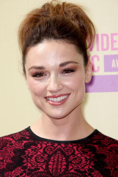 MTV Video Music Awards 2012: Red Carpet Arrivals: Crystal Reed, Teen Wolf