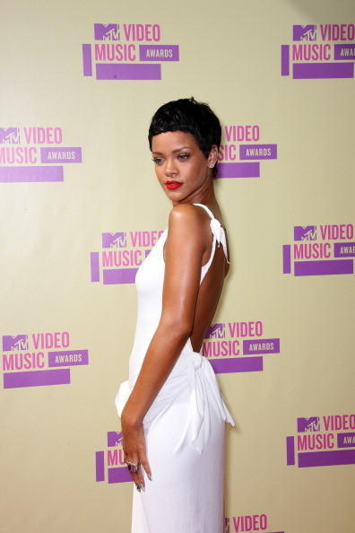 MTV Video Music Awards 2012: Red Carpet Arrivals: Rihanna