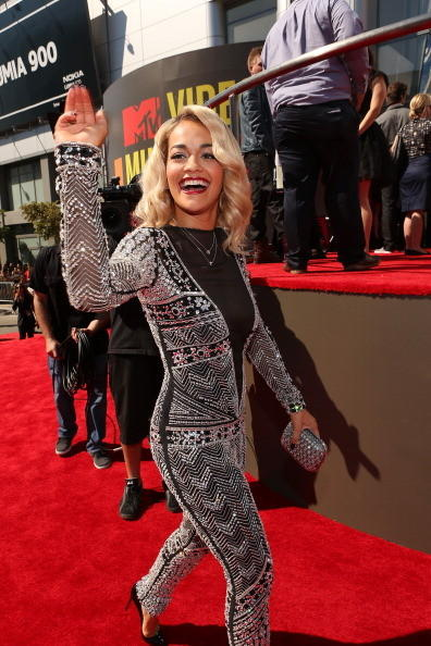 MTV Video Music Awards 2012: Red Carpet Arrivals: Rita Ora