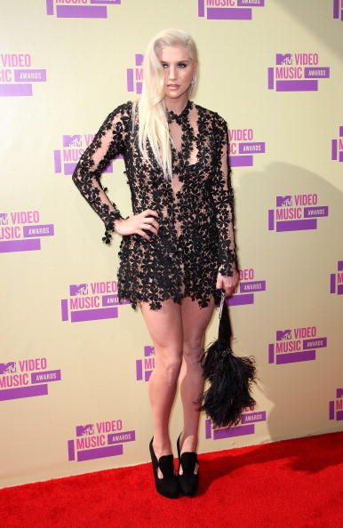 MTV Video Music Awards 2012: Red Carpet Arrivals: Ke$ha