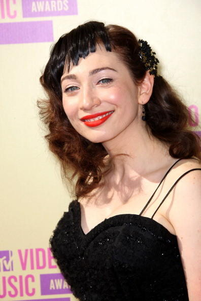 MTV Video Music Awards 2012: Red Carpet Arrivals: Regina Spektor