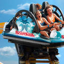 12) Santa Cruz Beach Boardwalk - Undertow spinning coaster
