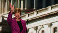 Tammy Baldwin at Democratic National Convention