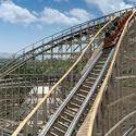 10) California's Great America - Gold Striker wooden roller coaster