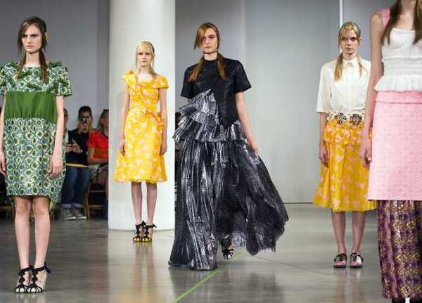 The Creatures of the Wind spring-summer 2013 collection is modeled during Fashion Week in New York.