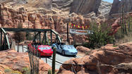 Disney California Adventure park -- Radiator Springs Racers