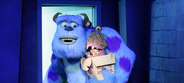 Monsters, Inc. Mike & Sulley to the Rescue! is a dark ride unique to Disneyland. Walt Disney World offers the Monsters, Inc. Laugh Floor at Tomorrowland in the Magic Kingdom, but the Monsters, Inc. ride at Disney California Adventure park is just one of several dark rides that set Disneyland Resort apart from Walt Disney World.