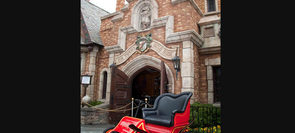 The beloved ride was at both Disneyland and Walt Disney World until 1998 when Disney shut down Mr. Toad at the Magic Kingdom in favor of a Winnie the Pooh ride. Disneyland keeps Mr. Toad running while it also has a version of the Pooh ride. It's one of several dark rides that separate Disneyland from Walt Disney World.