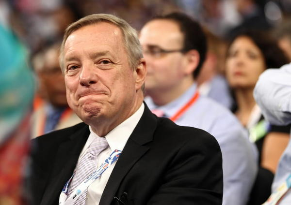 Sen. Dick Durbin, seen here on the first night of the Democratic National Convention in Charlotte, N.C., faces a choice about 2014.
