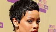 Rihanna rocks a super-short haircut