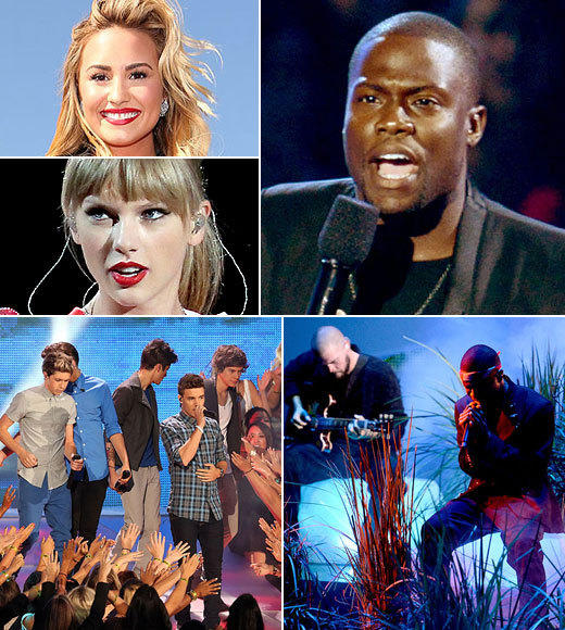 MTV VMAs 2012: Best and worst moments: One Direction ruled, Frank Ocean wowed and Kevin Hart hosted. Take a look at the best and worst moments of the 2012 MTV Video Music Awards.  -- The Zap2it team