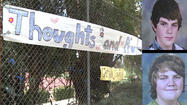 POWAY, Calif. – A message of encouragement for two brothers seriously injured in an accident decorated the fence outside Poway High School Thursday afternoon.