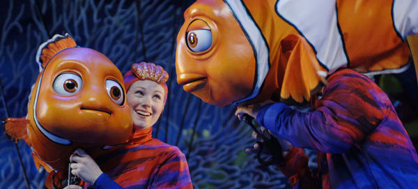 Finding Nemo -- The Musical is a scheduled 30-minute musical-theater adaptation of the Disney-Pixar film performed in the Theater in the Wild at the DinoLand U.S.A area in Disney's Animal Kingdom theme park.