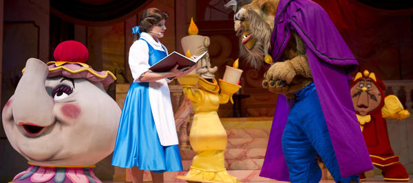 Beauty and the Beast -- Live on Stage in Disney's Hollywood Studios theme park is a lavish 25-minute, Broadway-style musical that brings to life the tender love story of Belle and the Beast.