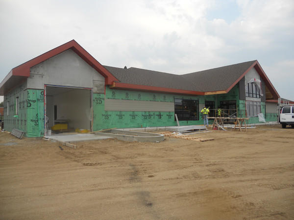 Webster Cenex C-store, located on Highway 12, is expanding and expects to be open by mid-October.