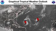 The National Hurricane Center is tracking two hurricanes, neither one a threat to the United States.