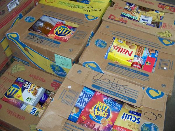 Area food pantries report numbers are on par to exceed numbers from 2011.
