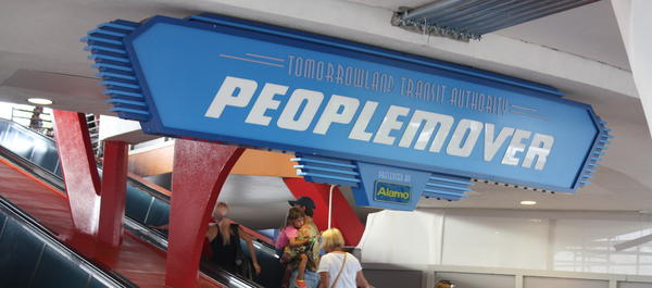 The Tomorrowland Transit Authority People Mover gives riders a tour of Tomorrowland from above. It's one of the quickest ride lines at Walt Disney World and offers some unique views of other attractions including Space Mountain and Buzz Lightyear Space Ranger Spin.