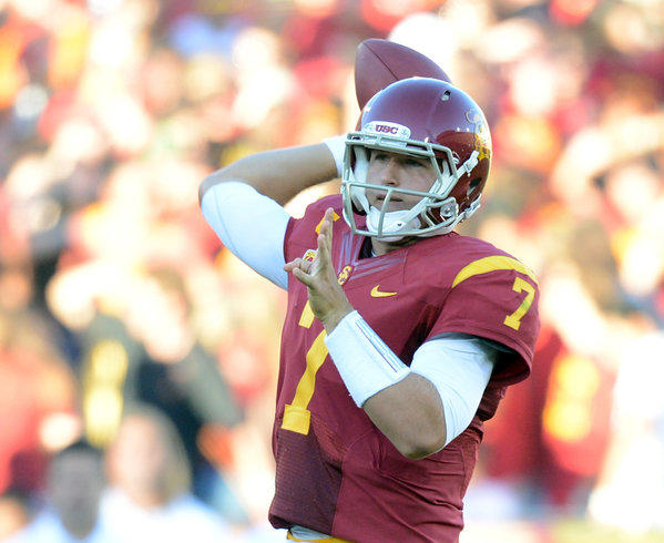 Matt Barkley will spend his 22nd birthday Saturday playing against Syracuse in New Jersey's MetLife Stadium.