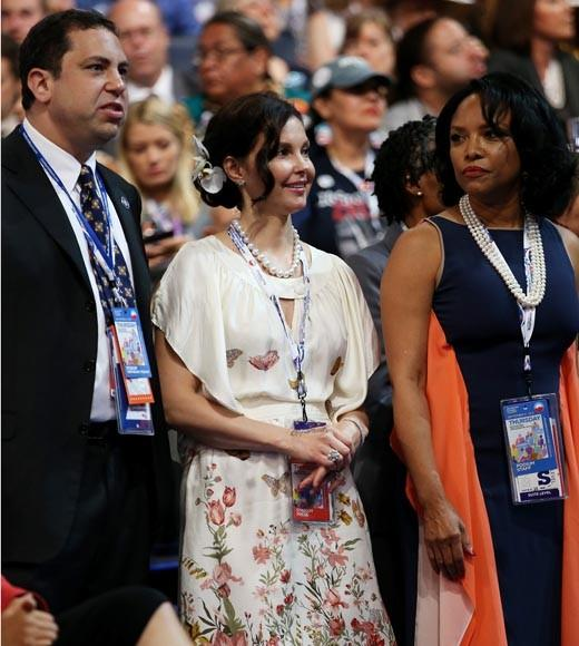 From Tom Hanks to Eva Longoria: Famous President Obama supporters: The actress attended the Democratic National Convention as a Tennessee delegate.