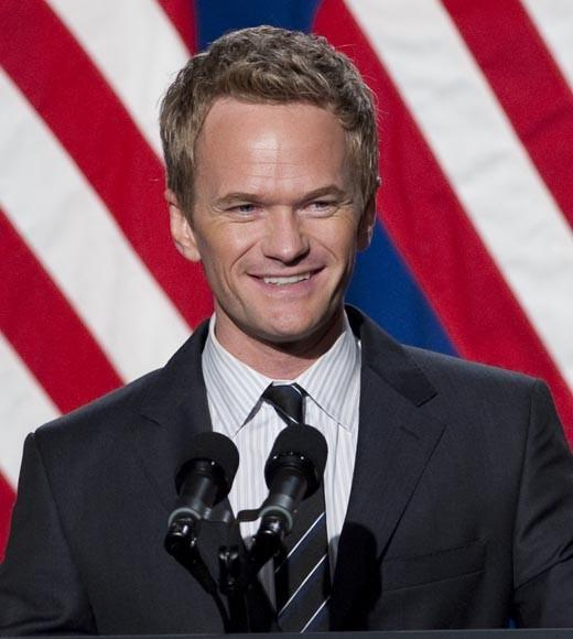 From Tom Hanks to Eva Longoria: Famous President Obama supporters: The How I Met Your Mother co-hosted the Democratic National Committee Lesbian Gay Bisexual Transgender Gala in 2011. After the president announced his support for same-sex marriage, Harris tweeted, Bravo, Mr. President and thank you.