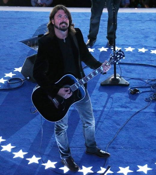 "The Foo Fighters played at the Democratic National Convention, and frontman Dave Grohl has been quoted as saying Obama ""definitely has soul."""