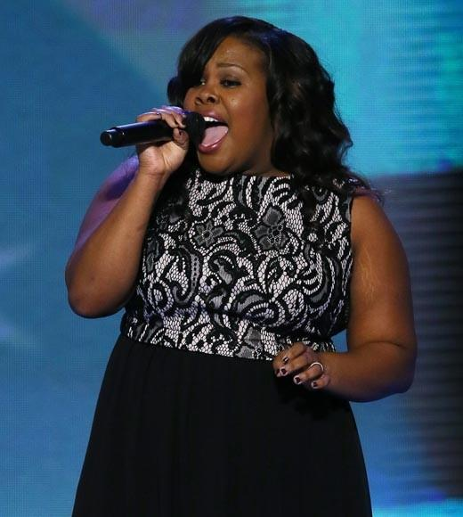 "The ""Glee"" star sang at the Democratic National Convention."