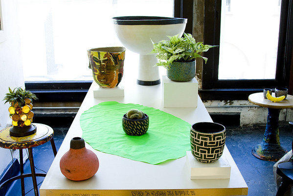 Handmade planters by artists -- some established, some emerging -- are on view through Sunday at For Your Art in Los Angeles.