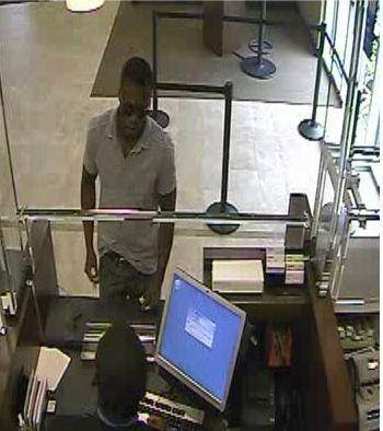 The FBI is looking for the man who robbed a Chase Bank in Tamarac