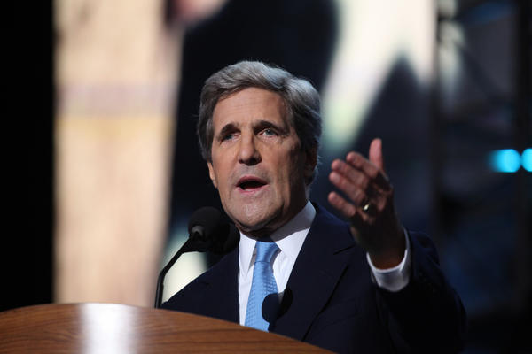 "Sen. John Kerry, his party's nominee for president in 2004, takes on the task of eviscerating the record and foreign policy knowledge of Republican Mitt Romney on the final night of the Democratic National Convention. He called Romney ""out of touch at home, out of his depth abroad and out of the mainstream."""