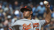 Following last night's thrilling 10-6 win over the Yankees at Camden Yards, the Orioles can gain sole possesion of first place in the AL East with a victory over New York tonight.