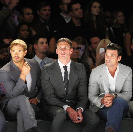 Brad Richards, Kellan Lutz and Ryan Lochte