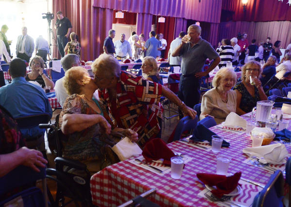 This annual event at Lake Compounce brings Republicans and Democrats together for a bipartisan luncheon at the 131th meeting of the Crocodile Club.