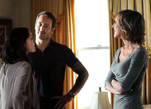 Fall TV 2012 Returning Shows: What to expect: Premieres: Monday, Sept. 24 at 10 p.m.   Expect to see: Cliffhangers resolved. Well meet McGarretts (Alex OLoughlin) mother, played by Christine Lahti, and find out why shes been pretending to be dead for so long, and also discover the fates of Kono (Grace Park) and Chin Hos (Daniel Dae Kim) wife, Malia (Reiko Aylesworth). Our moneys on the series regular.   -- Rick Porter, Zap2it