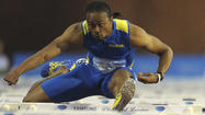 For U.S. high hurdler Merritt, a big step forward