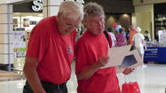 State Rep. Rob Kauffman hosted his annual senior fair at the Chambersburg Mall on Friday.