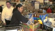 Storm Puts Extra Stress on Food Banks