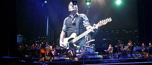 Bruce Springsteen & the E Street Band perform at Wrigley Field September 7, 2012.