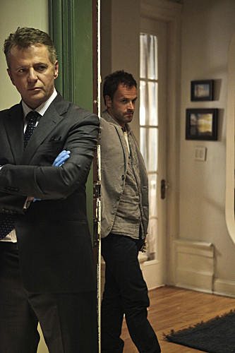"Chicago native Aidan Quinn (left, with Jonny Lee Miller) plays Captain Toby Gregson in ""Elementary,"" which premieres at 9 p.m. Sept. 27 on CBS. He was raised in Chicago, Rockford and in Ireland (Dublin and Birr, County Offaly). Quinn got his start in acting in Chicago theater at age 19. He trained at the Piven Theatre Workshop."