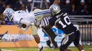 The first two meetings between local rivals Old Dominion and Hampton were tight, interesting affairs that weren't decided until the end. The Monarchs, on their way out the Football Championship Subdivision door, left no doubt this time.