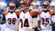 Stopping second year quarterback Andy Dalton is a major key for the Ravens if they are to beat the Cincinnati Bengals Monday in the season opener.