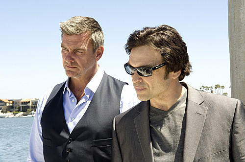 "Jason Gedrick, who was born in Chicago one day before me, will appear in the upcoming Season 7 of ""Dexter"" as George Novikov, the manager of a Miami-area gentlemen's club that becomes linked to a high-profile murder case. Gedrick, shown at right with Ray Stevenson in ""Dexter,"" most recently starred in HBO's ""Luck."""