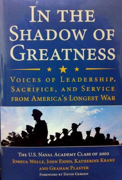 "Anita Brenner, a Valley Sun columnist and mother of a recent war veteran, is one of the contributors to a new book about the post-9/11 conflicts: ""In the Shadow of Greatness: Voices of Leadership, Sacrifice and Service from America's Longest War."""
